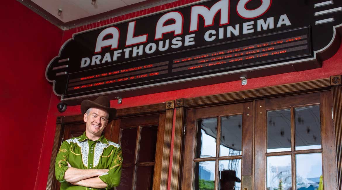 The Alamo Drafthouse Cinemas